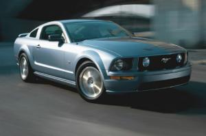 2005 Ford Mustang GT - Steering & Traction Control - Motor Trend