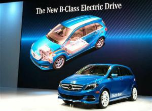 2014 Mercedes B-Class Electric Drive Arrives Next Year - 2013 New York