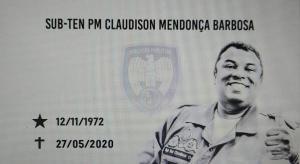 Claudison Mendonça Barbosa estava na corporação há mais de 26 anos e atuava no Ciodes; ele faleceu na última quarta-feira (27)