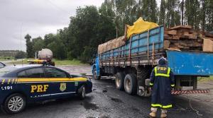 Segundo a Polícia Rodoviária Federal, o volume de madeira transportado era a de aproximadamente 25m3; a carga seguia da Bahia para o Rio de Janeiro