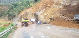 O trecho entre Viana e Domingos Martins, onde ocorrem frequentemente deslizamentos e rolamentos de pedras, será o primeiro a ser contemplado com intervenções