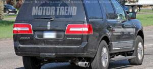Lincoln Navigator with new 4.4-liter diesel - Spied Vehicles - Motor Trend
