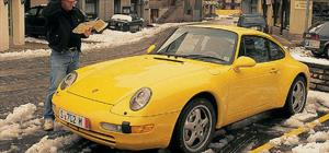 1996 Porshce Carrera 4 - The Color Of Speed - European Car - Motor Trend Magazine