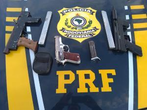 Fiscalização faz parte da Operação Tamoios, que reforça o policiamento nas rodovias federais para o combate à criminalidade