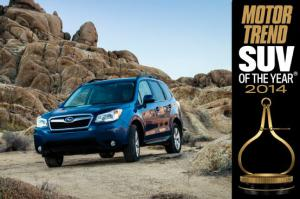 2014 Motor Trend SUV of the Year Winner: Subaru Forester - Motor Trend