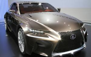 Lexus LF-CC Concept First Look - 2012 Paris - Motor Trend