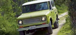 Four-Wheel Drives Comparison - Full Metal Jackets International Harvester Scout- Motor Trend Classic