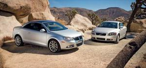 2007 Volkswagen EOS vs. 2007 Volvo C70 - Results - Road Test & Review - Motor Trend