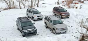 2008 Chevrolet Tahoe LT vs. 2008 Ford Expedition King Ranch vs. 2008 Nissan Armada LE vs. 2008 Toyota Sequoia Limited - Specs -