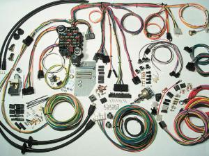 instaling an instrument cluster super chevy magazine classic update series wiring kit american autowire super chevy magazine
