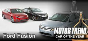 2010 Motor Trend Car of the Year Award Winner - 2010 Ford Fusion - Motor Trend