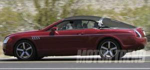 Bentley Continental GT Convertible - Spied - Motor Trend