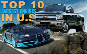 Top 10 Largest Engines in U.S.-Market Cars - Motor Trend