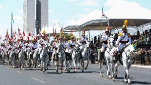 O evento já foi usado pelo presidente Jair Bolsonaro como um teste de popularidade