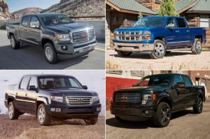 Best-Handling Trucks Around the Motor Trend Figure-Eight
