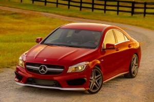 2014 Mercedes CLA45 AMG EPA-Rated 31 MPG, 0-60 MPH in 4.2 Seconds - Motor Trend WOT