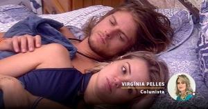 A sexóloga Virginia Pelles analisa o que pode ter acontecido com o brother debaixo do edredom, durante a madrugada