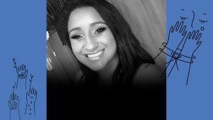 A balconista Shirley Simões, 31 anos, foi assassinada com seis tiros. Ela havia entrada com um pedido de medida protetiva três dias antes do crime