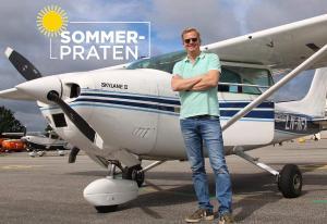 - Flyr jeg alene og ikke som transport, så er nok det det minst bærekraftige jeg gjør i sommer