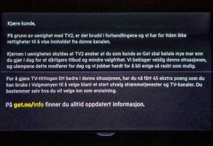 TV 2-direktør tror Get-bruddet kan ta lang tid