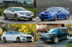 2015 Ford Flex Limited Ecoboost - Great 300-hp Cars and SUVs Around $40,000