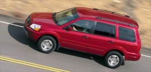 2003 Honda Pilot Handling, Suspension, Interior, Price - First Drive & Road Test Review - Truck Trend