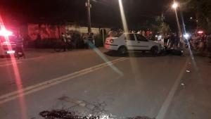 O outro motorista, de 69 anos, que estava no carro não ficou ferido