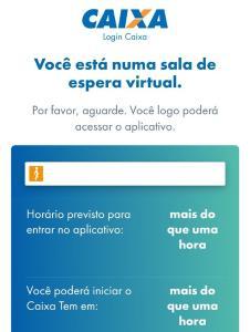 A Caixa informou que o usuário da conta digital agora pode ficar logado por 72h no aplicativo em que são pagos o auxílio de R$ 600, o saque emergencial do FGTS e o benefício por redução de salário