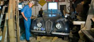 Jay Leno 1954 Jaguar XK120 - Car Collection - Classic - Motor Trend