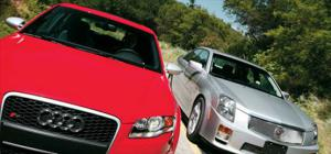 Audi RS 4 vs Cadillac CTS-v - Specifications - Head to Head - Motor Trend