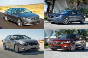 The 20 Quickest Midsize Sedans Tested by Motor Trend