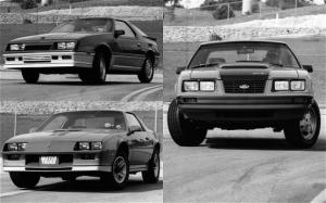 Pontiac Firebird and Mercury Capri - Motor Trend