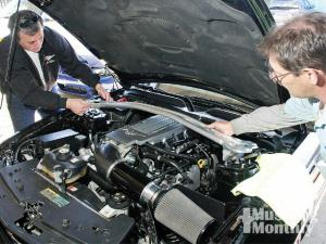 how to install a rally pac mustang monthly magazine how to install a strut tower brace mustang monthly magazine