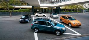 2008 Honda CR-V EX vs. 2008 Nissan Rogue SL vs. 2008 Saturn VUE Green Line vs. 2009 Subaru Forester 2.5x Premium vs. 2008 Toyota