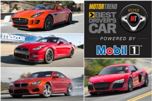 2013 BMW M6 and 2014 Jaguar F-Type V8 S - 2013 Best Driver's Car Contenders Part 3 - Motor Trend