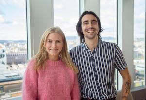 Morten og Kornelia hadde ikke peiling på økonomi - nå styrer de DNBs Instagram-konto | Kampanje