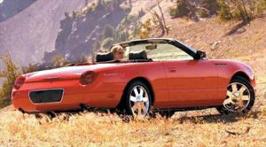 2002 Ford Thunderbird Review, Price, Specs & Road Tests - Motor Trend