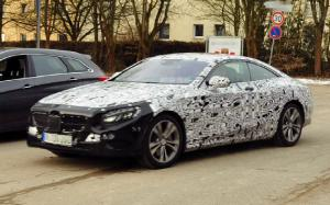Caught! 2015 Mercedes-Benz S-Class Coupe
