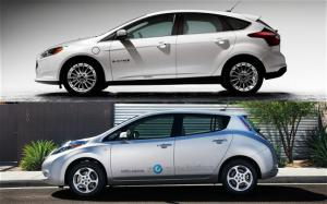 2011 Nissan Leaf vs. 2013 Ford Focus Electric - Comparison - Motor Trend