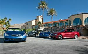 Luxury Convertible Comparison: 2010 Audi A5 vs 2010 BMW 335i vs 2009 Infiniti G37 vs 2010 Lexus IS 350 - Motor Trend