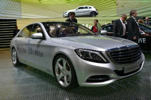 Mercedes-Benz S500 Plug-In Hybrid to Bow at Frankfurt