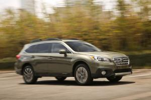 2015 Subaru Outback 2.5i Limited First Test - Motor Trend