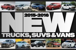 2015-2016 Trucks, SUVs and Vans: The Ultimate Buyer's Guide