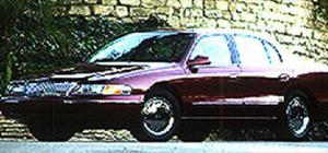 1995 Lincoln Continental - Road Test - Motor Trend