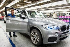 2014 BMW X5 Production Begins in South Carolina