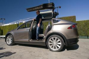 Tesla Model X Prototype Preview Ride - Motor Trend