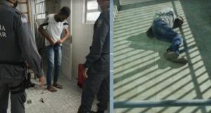 O homem foi preso pela primeira vez de manhã dentro da clínica, mas acabou liberado no mesmo dia