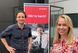Norwegian er «tilbake» i ny kampanje - men markedsavdelingen er kraftig redusert