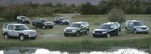 Motor Trend 2005 Sport/Utility of the Year Winner Land Rover LR3