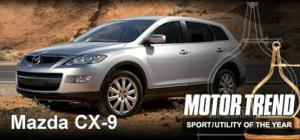 2008 Mazda CX-9 - 2008 SUV of the Year Winner - Motor Trend